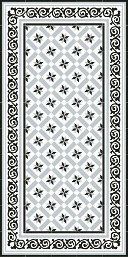 20x20 barcelone rose des vents grise nivault. Black Bedroom Furniture Sets. Home Design Ideas