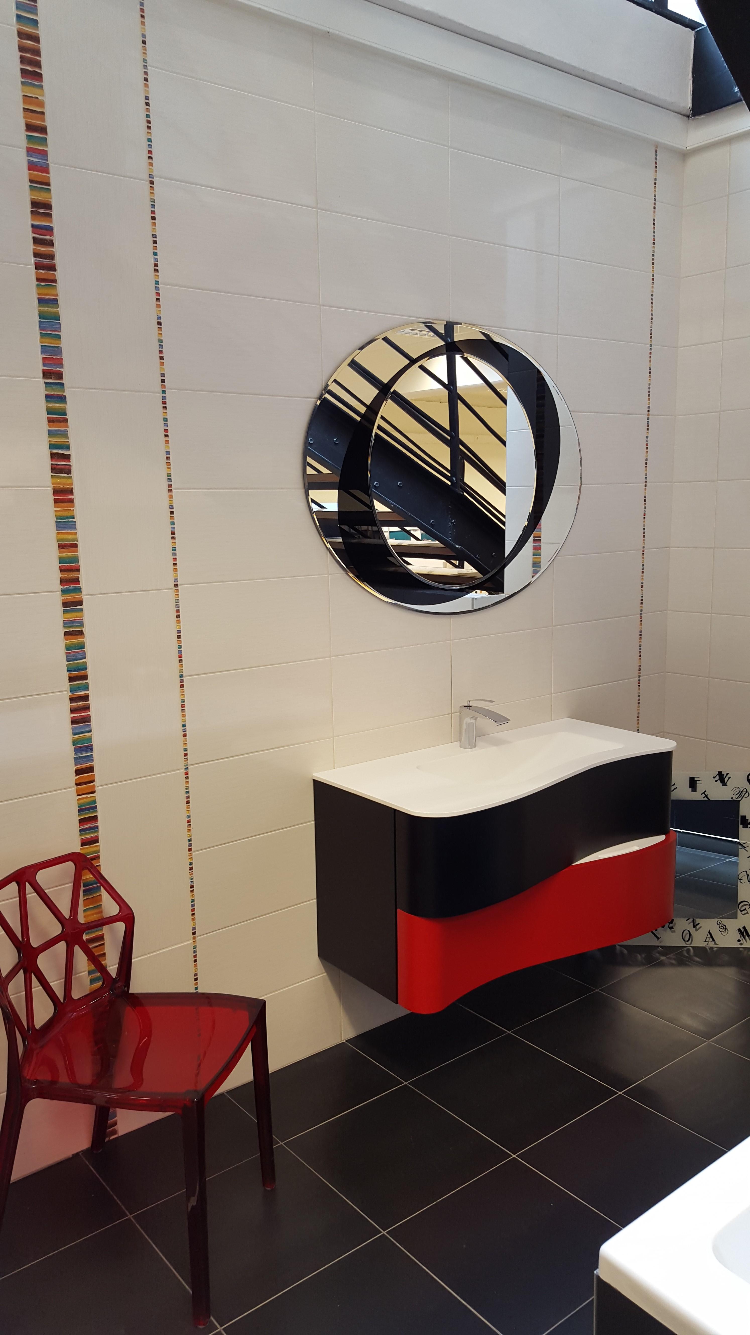 Meuble de salle de bain chez Nivault à Caen