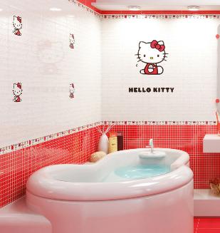 Carrelage et fa ence hello kitty nivault for Nivault carrelage salle de bain cuisiniste