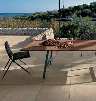 dallage ext rieur en carrelage pour terrasse sur plot. Black Bedroom Furniture Sets. Home Design Ideas