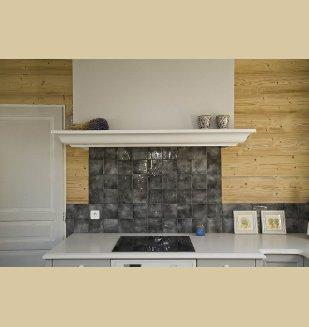 Cuisine cottage nivault - Credence ou carrelage cuisine ...