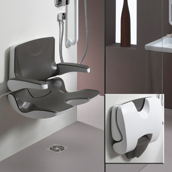 Salle de bain pmr personnes mobilit r duite nivault - Wc avec lavabo integre leroy merlin ...