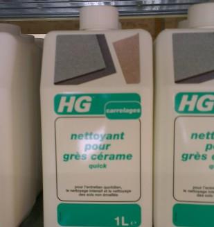 Produit d 39 entretien pour carrelage marque hg nivault for Produit nettoyant carrelage