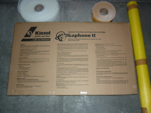 Kit d'isolation phonique Okaphone II de Kiesel