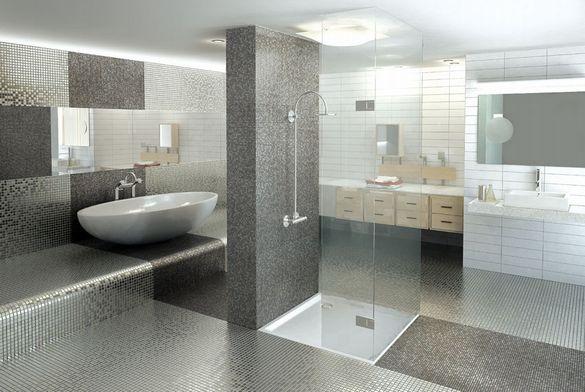 Mosaique verre pierre moderne accueil design et mobilier for Nivault carrelage