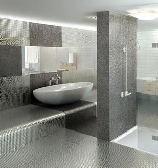 Mosa que pate de verre carrelage pierre naturelle for Carrelage verre salle de bain
