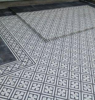 Collection vintage carrelage aspect carreau ciment nivault for Carrelage kerion