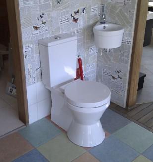 Très grand choix de WC chez Nivault à Caen