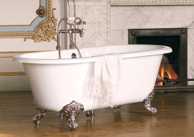 Nivault baignoire r tro style victorien - Baignoire style retro ...