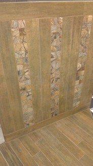 Carrelage aspect parquet nivault for Pose carrelage murale