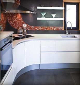 Choix couleur carrelage cuisine avec merbeau ds s jour - Cuisine avec carrelage gris ...