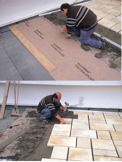 Pose de carrelage pour terrasse nivault for Peut on coller du carrelage avec du ciment