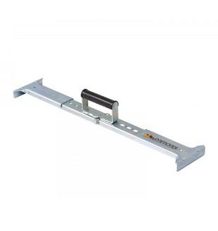 Poign e porte dalle r glable pour dalle de 50 65cm nivault for Carrelage 90x45